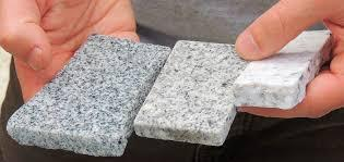 granite in hands
